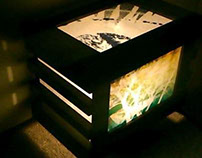【 The ReMake It is a Picture Frames lamp. 】