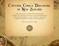 Interactive Education - The Discovery of New Zealand