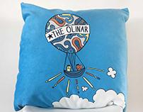 Olinda + Omar. Print, Pillow, Story.