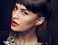 """Jacqueline Fernandez"" for Cosmopolitan Oct 2012"