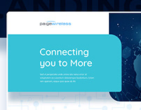 PaigeWireless - Connecting you to more - Landing Page
