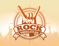 Rock Your Life Logo Redesign