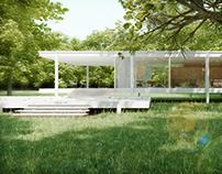 CGI - Farnsworth house