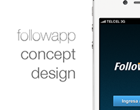 followapp concept design
