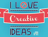 «Poster» I Love Creative Ideas