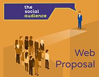 Mock-Up proposal for Social Web FLAT