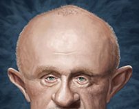 Mike Ehrmantraut Caricature