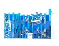 "Booth design for ""Wizard"""
