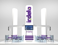 "Booth design for ""Irdeto"""