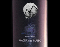 Magia del Maipo - Wine Label