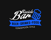 Reciclo Bar Branding