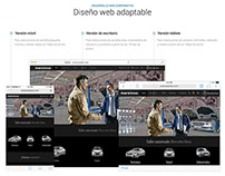Web Corporativa - AmaroCerezo - Mercedes-Benz
