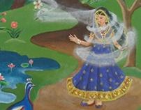 Mughal Inspired fairytales