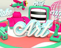 Make_Art_Not_War // AD
