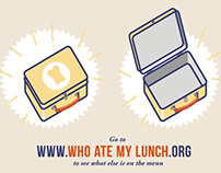 'Who Ate My Lunch?' / Infographic Video