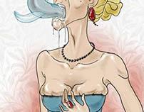 illustration for russian romance