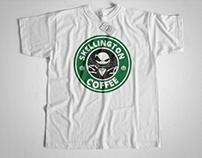 Halloween 2017 Skellington coffee t shirt Hamza Bhm
