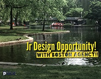 Jr. Agency Design opportunity!!