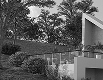 Sloping Land Home