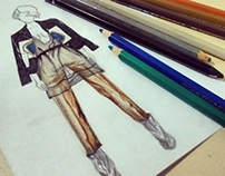 Fashion illustration | Mercedes-Benz Kiev Fashion Days