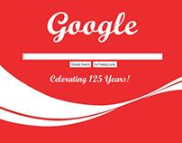 Google Doodle | Anniversary Concepts