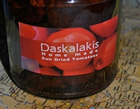 Daskalakis Sun Dried Tomatoes