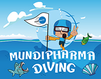 Mundipharma Diving game