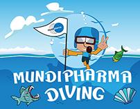 Mundipharma Diving game