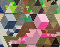 Geometric Graffiti Abstractism