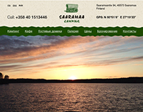 Saaramaa camping website