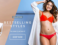 PrettySecrets.com Website Banners