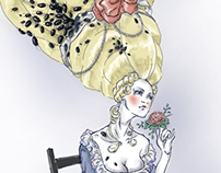 ladies de Baroque, illustration
