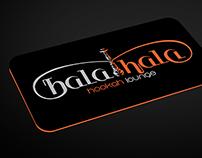 Hala Hala Hookah Branding