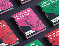 Cafés Científicos | Book Series Design