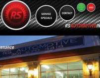 RS Automotive website