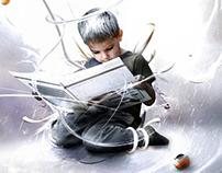 Digital Art - Read is an adventure