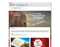 Virgin Holidays Email Designs
