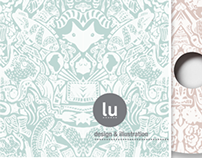 Lu illustration CD cover design