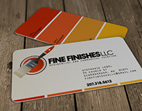 Fine Finishes LLC – Logo & Business Cards