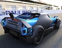 Rally Car Group B