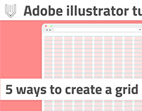 5 ways how to setup grid in Adobe Illustrator