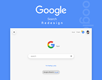 Google Search Design
