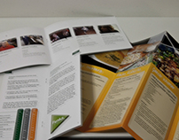 Various advertising and brochure production