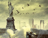 Zombilife.com.br - Statue of Liberty (Zombie)