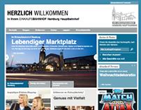 Einkaufsbahnhof   Launch Website