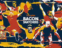 Bacon Snatchers Poster
