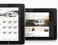 TRAILlite Motorhome website