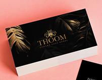 Porpuesta de logotipo para thoom 2