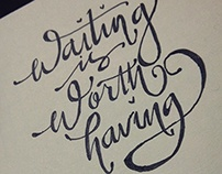 Handwriting Typography