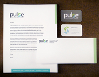 Pulse logo & stationary
